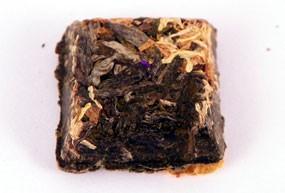 Mini brique à thé fleurs de souci